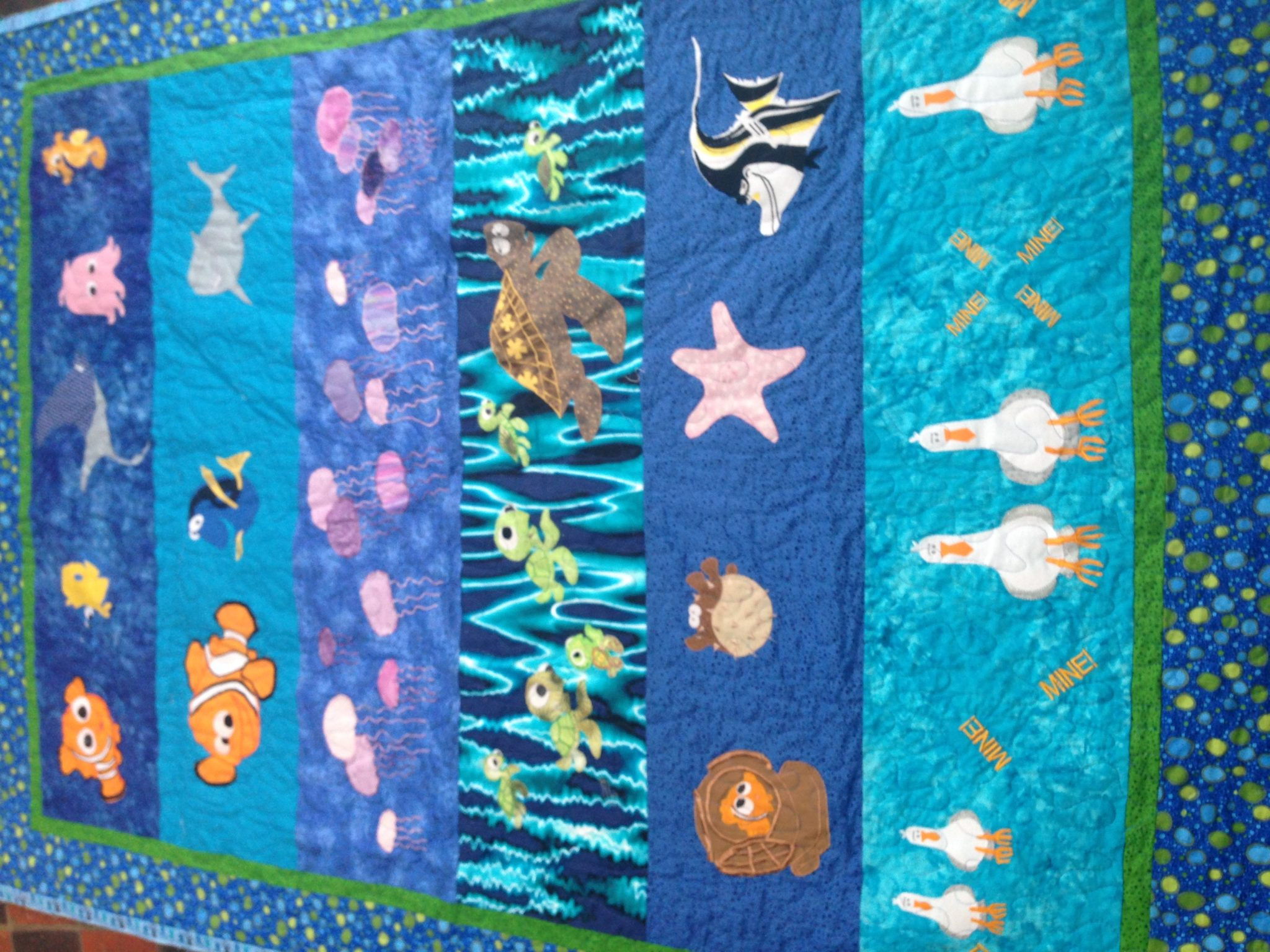 Quilts – Bee Quilted : nemo quilt - Adamdwight.com